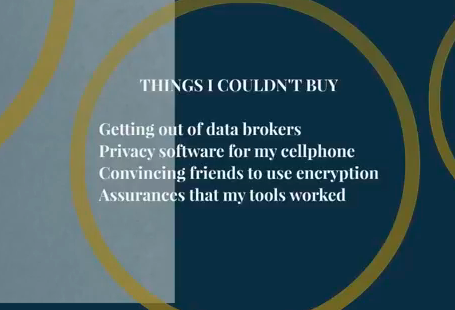 privacy - things i couldn't buy